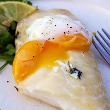 Sous Vide Supreme Smoked Haddock And Poached Egg