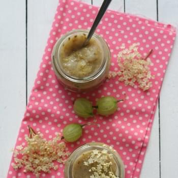 Gooseberry and Elderflower Compote