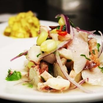 Mixed Seafood Ceviche