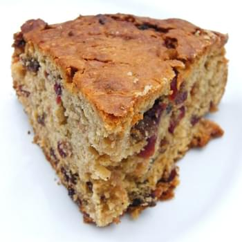 Cranberry & Apple Spice Cake