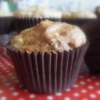 Apple Muffins with Cinnamon Butter
