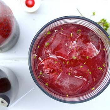 Summer Berry And Pernod Cordial