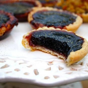 Bramble And Liquorice Jam Tarts