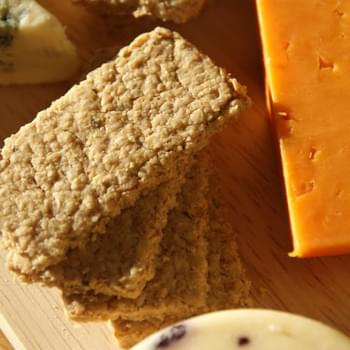 Day 11 – Cheese Oatcake Crackers