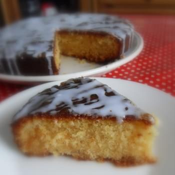*Sticky Orange Marmalade Cake*