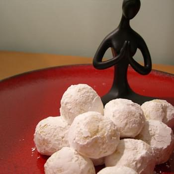 White Chocolate Truffles with Peppermint