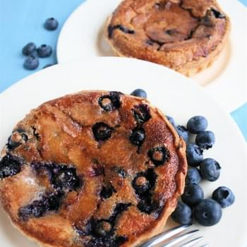 Blueberry and Cinnamon Tarts