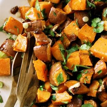 Ottolenghi Sweet Potato Salad Recipe With Pecan And Maple