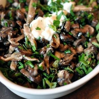 Roasted Mushrooms with Herbs