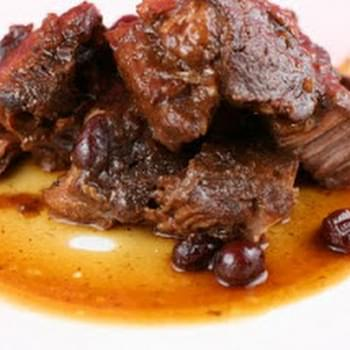 Super Simple Cranberry Roast (beef or pork) Slow Cooker