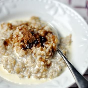 How To Make Creamy Make-Ahead Steel-Cut Oatmeal