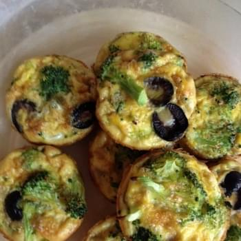 Clean Eating Broccoli Egg Muffins