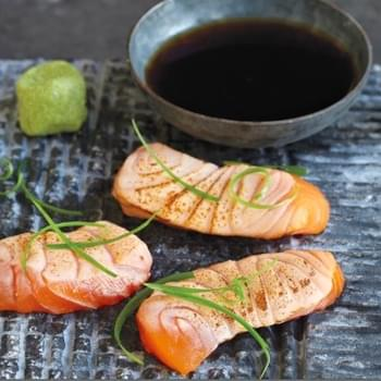 Have Blowtorch? Make Salmon Sashimi!