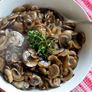 Thyme & Lemon Mushrooms