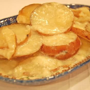 Scalloped Potatoes in the Oven or Slow Cooker