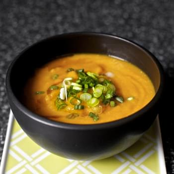 Carrot Soup with Miso and Sesame