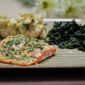 Lemon-Tarragon Salmon