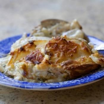 Creamy Herbed Potatoes