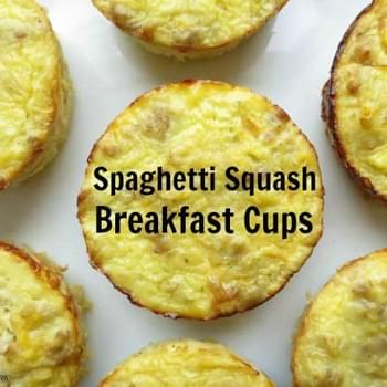 Spaghetti Squash Breakfast Cups + Giveaway