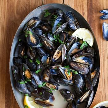 How To Make Steamed Mussels