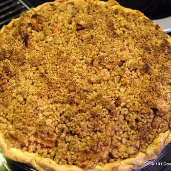 Really Easy Apple Crumb Pie