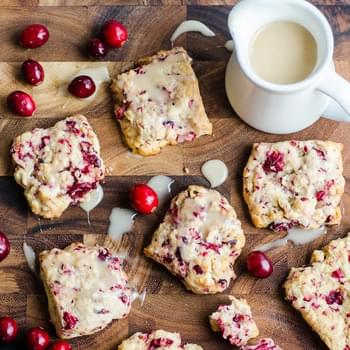 Fresh Cranberry Scones
