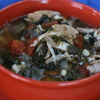 Smoky Turkey and Black Bean Soup
