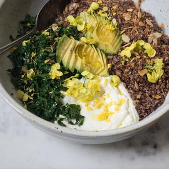 Coconut Quinoa Bowl
