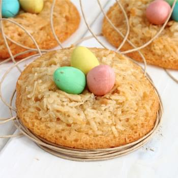 Coconut Macaroons Easter Style