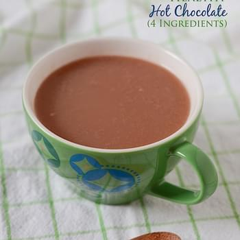 Healthy Hot Chocolate Recipe {Clean Eats}