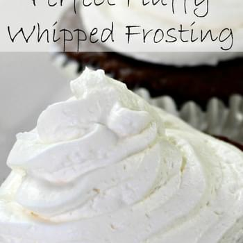 The Perfect Whipped Cream Frosting