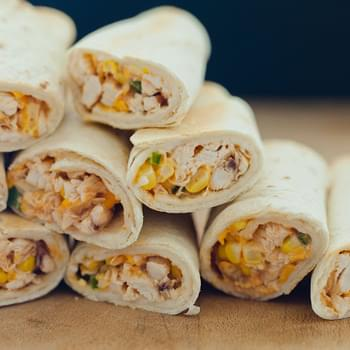 Quick & Easy Baked Chicken Flautas