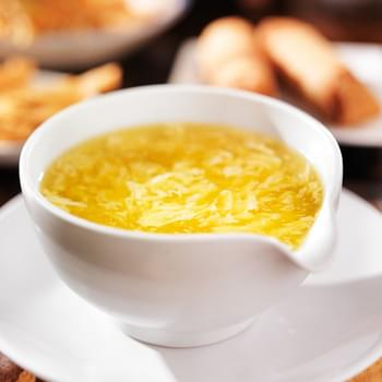 Our Favorite Egg Drop Soup