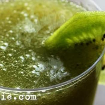 Minty Kiwi Mocktail