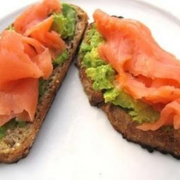 Smoked Salmon Avocado Toasts