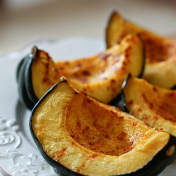 Roasted Acorn Squash with Smoked Paprika and Parmesan