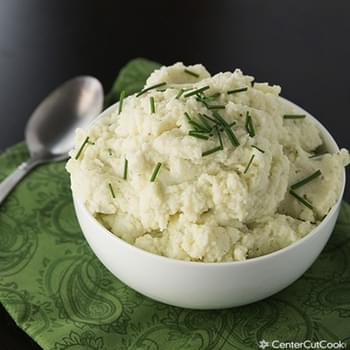 Mashed Cauliflower with Garlic and Chives