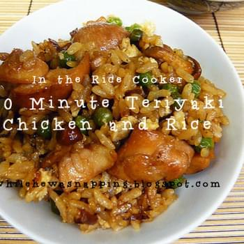 20 MINUTE TERIYAKI CHICKEN & RICE