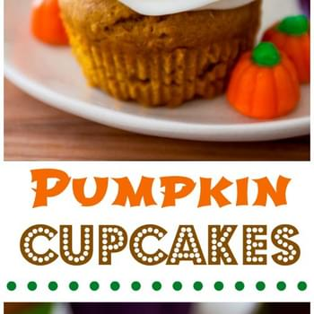 Basic Pumpkin Cupcakes