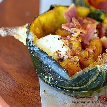 Roasted Acorn Squash & Hardwood Smoked Bacon