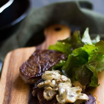 The Best Creamy Mushroom Sauce for Steaks