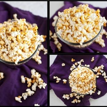 Coconut Curry Popcorn