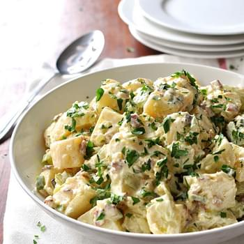 Mrs Brodie's Bacon Potato Salad