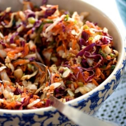 Asian Inspired Coleslaw