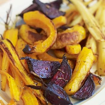 Spiced Tray-roast Winter Vegetables