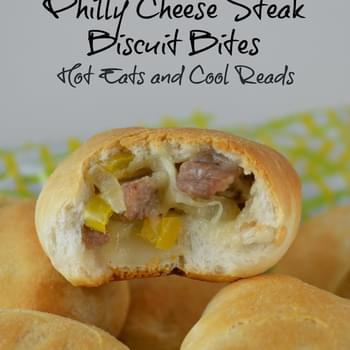 Philly Cheese Steak Biscuit Bites
