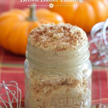 Pumpkin Spice Brown Butter Frosting