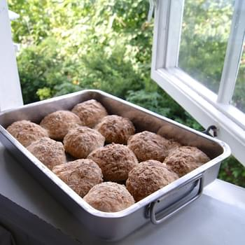 Whole Grain Gluten-Free Bread Rolls