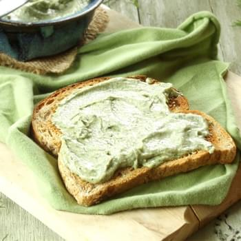 Garlic and Dill Hemp Cheese