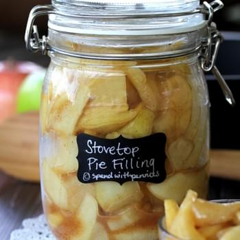Quick Stovetop Apple Pie Filling!